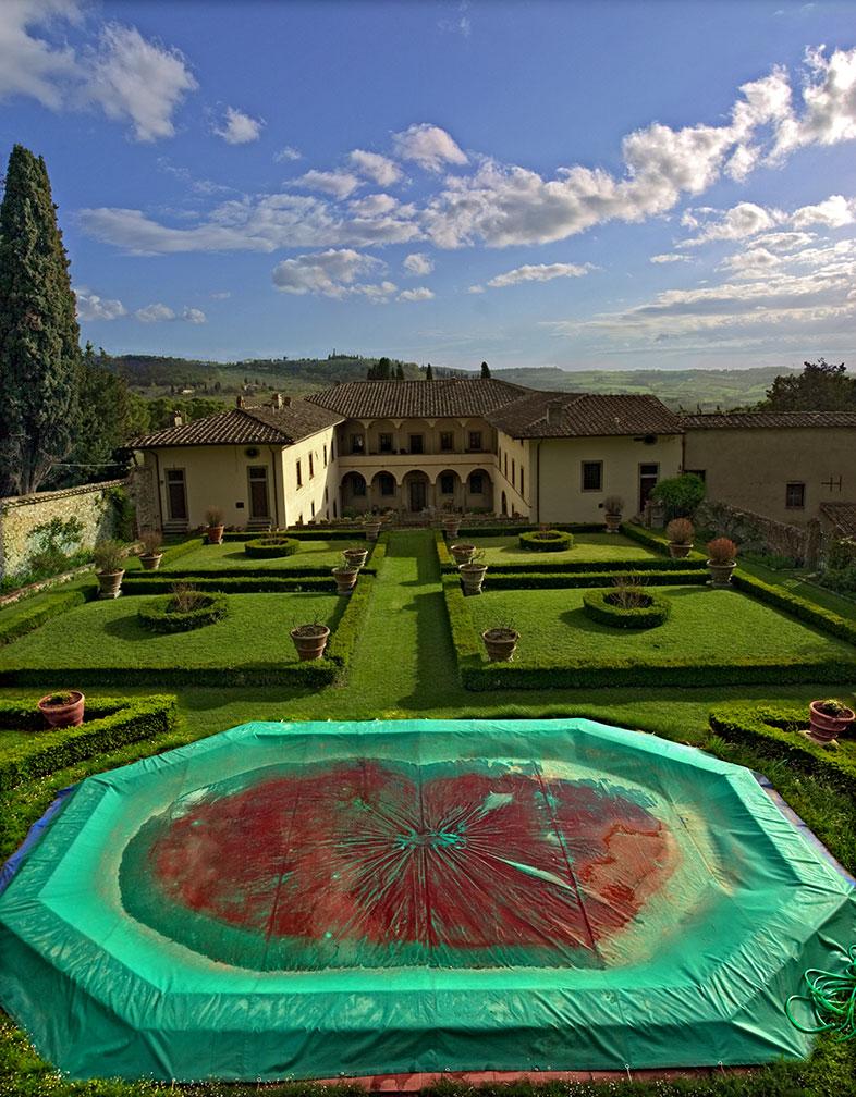Tuscan Palace Slide