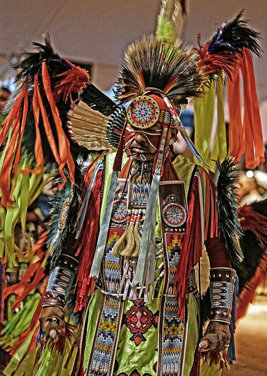 Fancy Dancer, Gallop Powwow