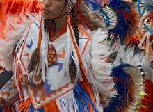 Fancy Dancer, Six Nations Powwow