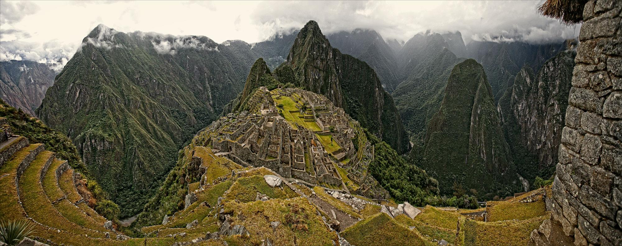Machu Picchu and Guard House 2
