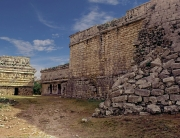 Old Chichen Itza Court Yard