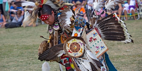 Traditional Dancer, Six Nations