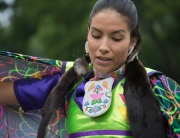 Shawl Dancer, Six Nations Powwow