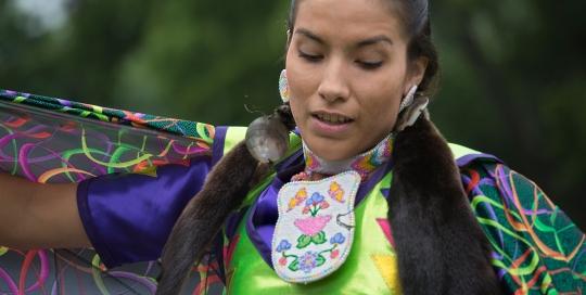 Shawl Dancer, Six Nations Powwow