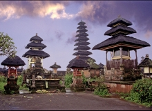 Temple in Morning