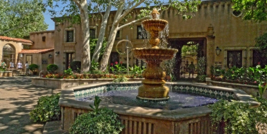 Sedona Fountain