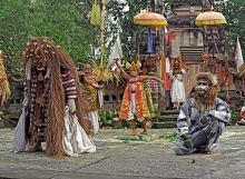 Barong, Rangda and Hanuman