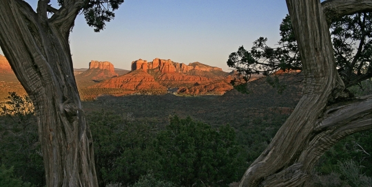 View of Red Rocks, Sedona