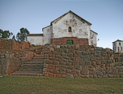 Chincero Church and Inca Walls