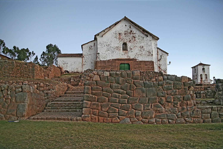 Chincero Church and Inca Walls
