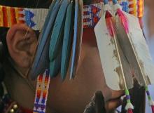 Native American Regalia Contestant