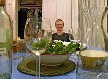 Dinner with Caitlin and Rod