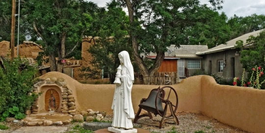 Front Court Yard at San Francisco de Asis Mission Church