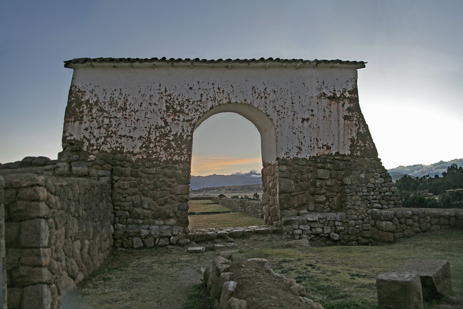 Gate to Chincero