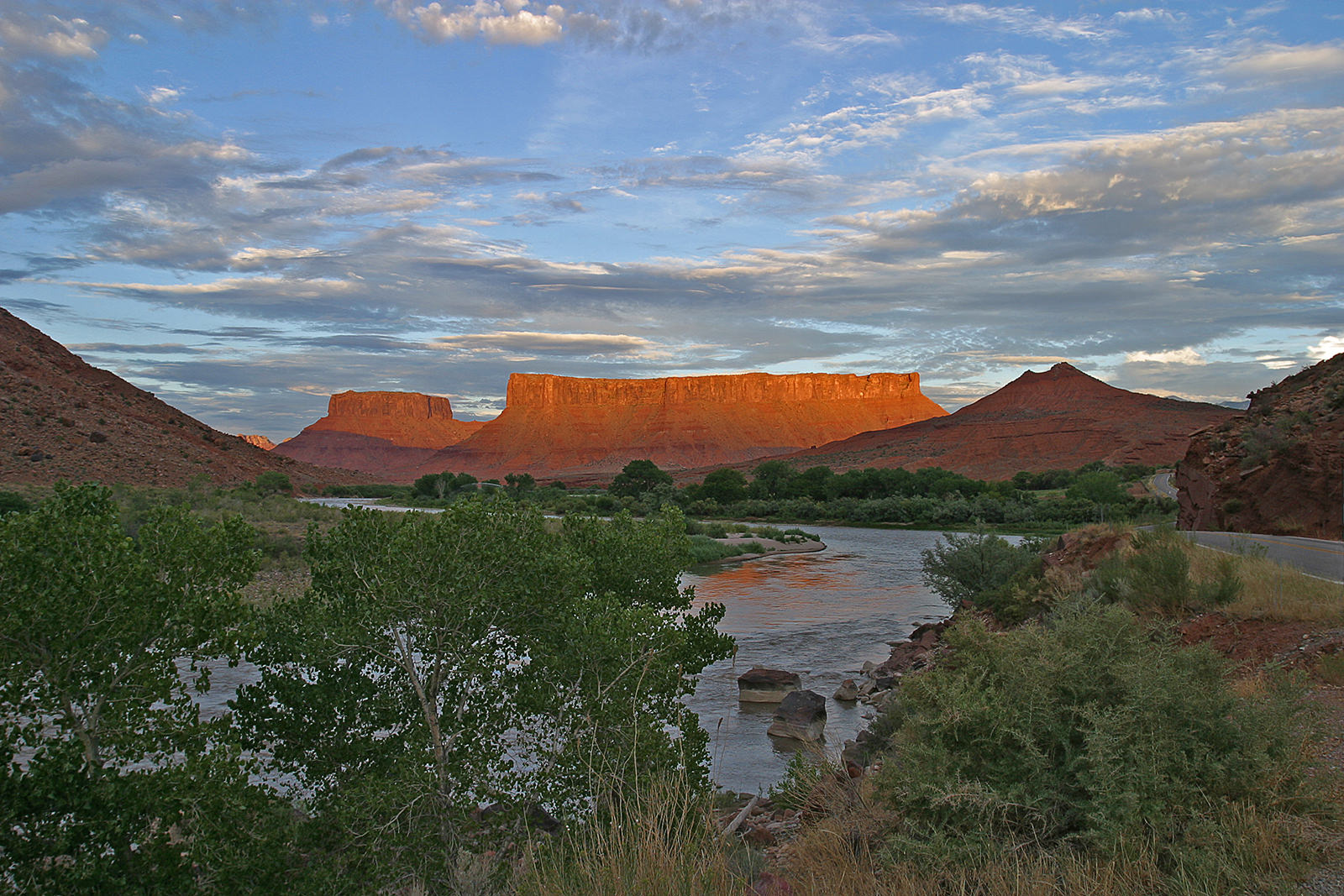 Green River at Dusk