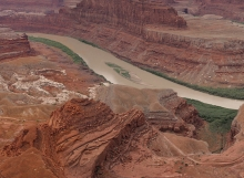 Green River in Canyon Lands