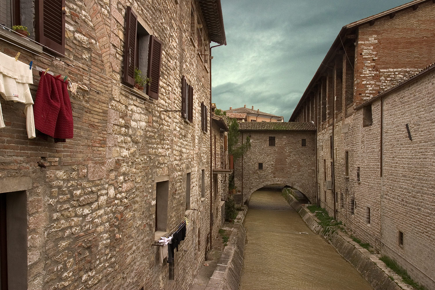 River That Runs Through Gubbio