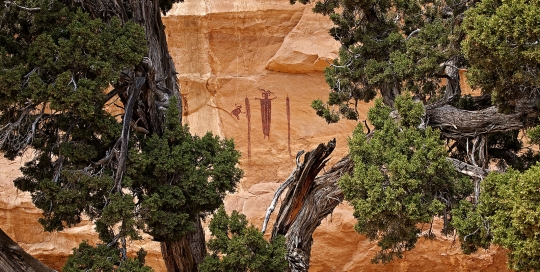Head of Sinbad Pictographs