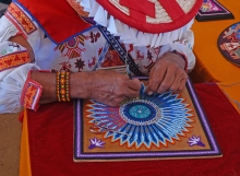 Huichal Artist at International Folk Festival