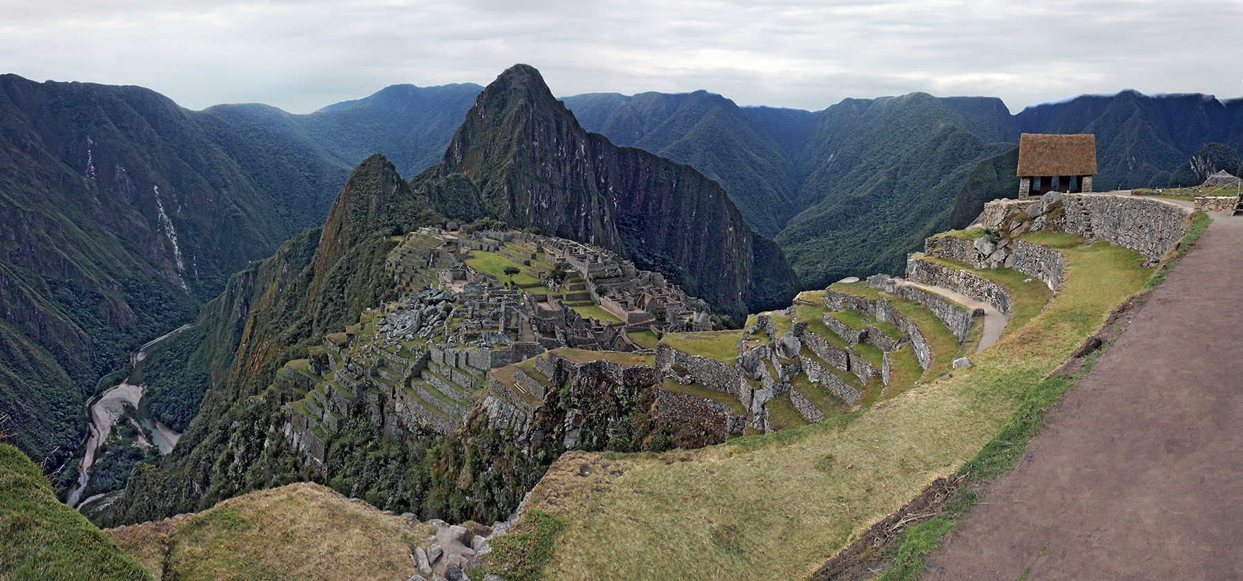 Machu Picchu with Guard House
