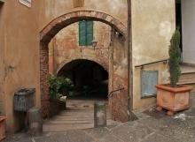 Montepulciano Walkway.