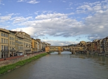 Ponti Vecchio from Ponte Santa Trunita