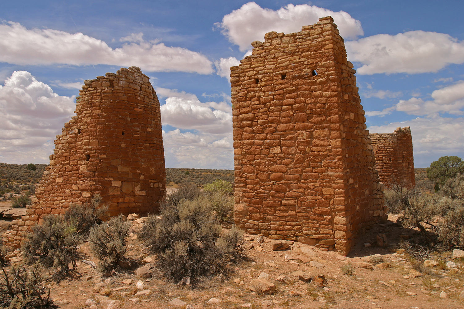 Puebloan Ruins at Hovenweep