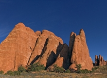 Rocks in Arches