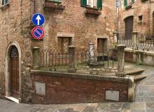 Street Corner in Multipulciano