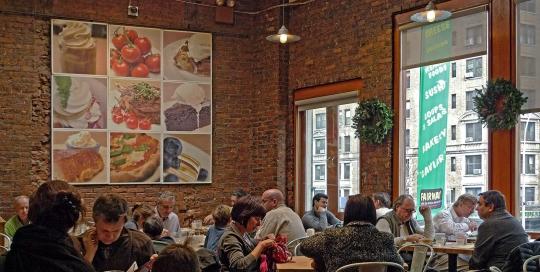 Cafe at Fairway Market 74th Street
