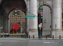 Mixed Signals in Lower Manhattan