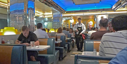 Tick Tock Diner, NYC