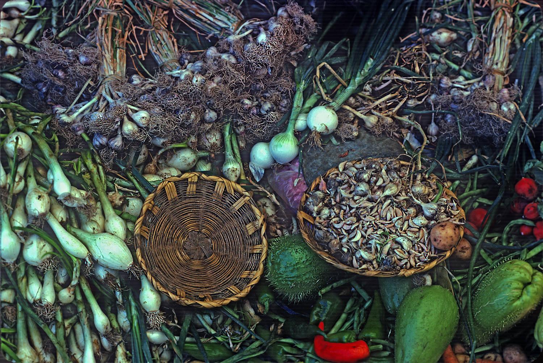 Produce in Zaachila Market