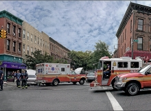 Accident in Park Slope