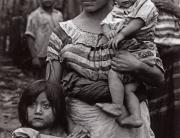Tzeltal Mom and Her Two Children