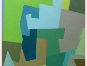 2 - Square Series - Green Painting
